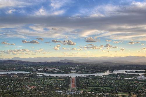 Canberra, capitale dell'Australia