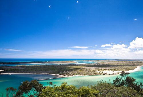 Gippsland Lakes nel Victoria, Australia
