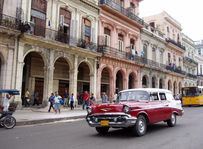 Cuba, L'Avana Vecchia.