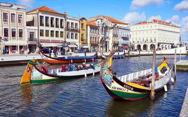 Aveiro, un Venezia portoghese.