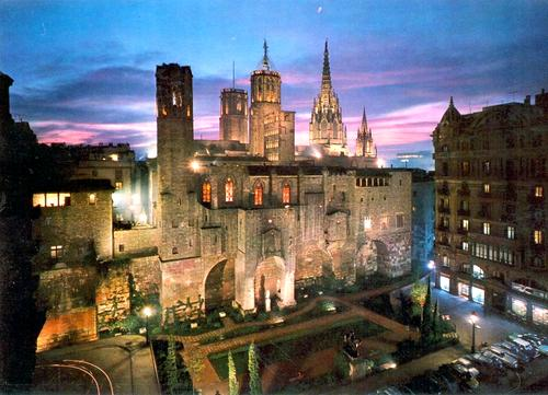 Barcellona, il Barri Gotic.
