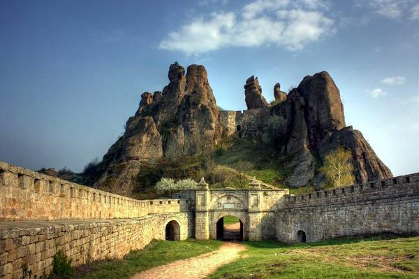 La fortezza e le rocce di Belogradchik.