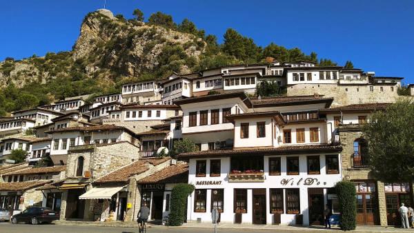 Berat in Albania.