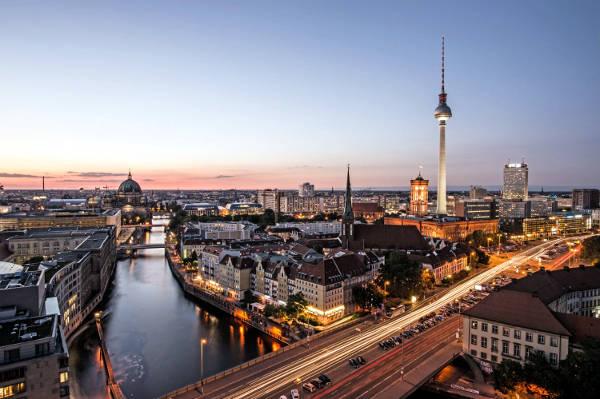 Berlino, la capitale della Germania.
