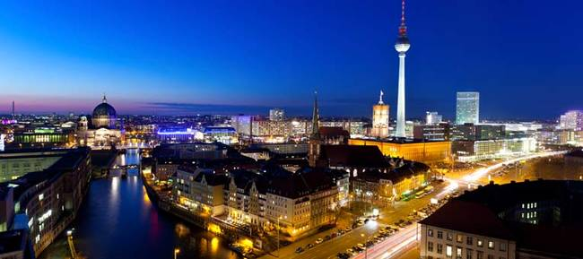 La bellissima Berlino, capitale tedesca.
