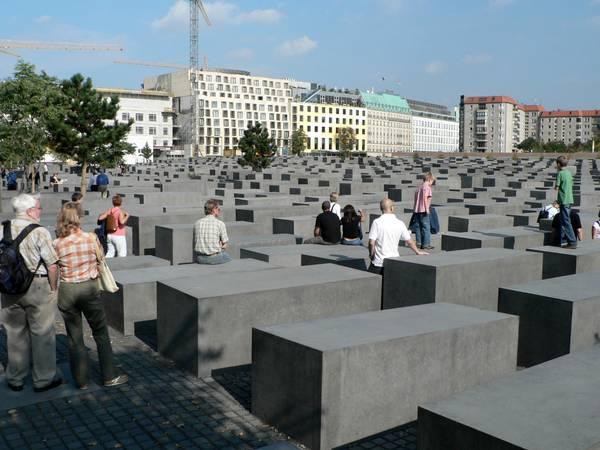 Memoriale dell'Olocausto o della Shoah a Berlino.