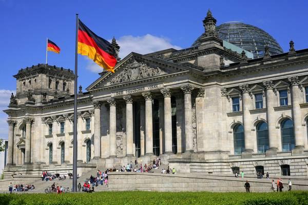 Il Palazzo del Reichstag di Berlino, parlamento tedesco.