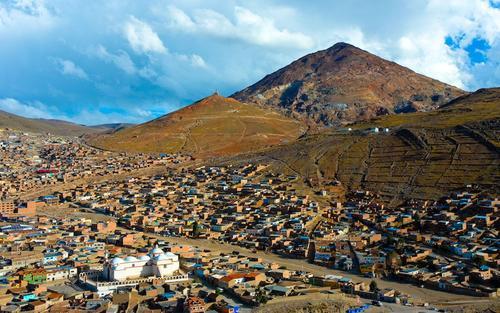 Potosí in Bolivia.