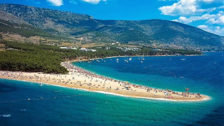 Isola di Brac in Croazia.