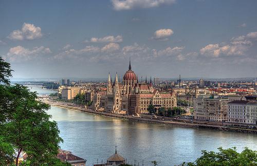 Budapest, il palazzo del Parlamento