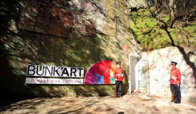 Bunkart, il bunker comunista che ospita un museo e gallerie d'arte contemporanea.