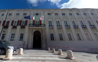 Palazzo Regio a Cagliari.