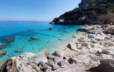 Cala Goloritzè in Sardegna.