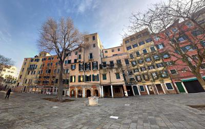 Campo del Ghetto Nuovo, nel ghetto ebraico di Venezia.