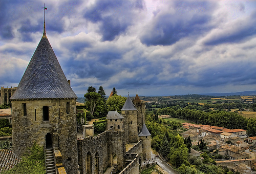 Carcassonne in Francia