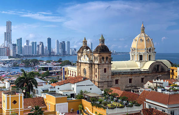 Cartagena de Indias in Colombia.
