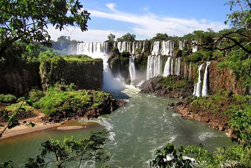 Argentina, cascate di Iguazu.