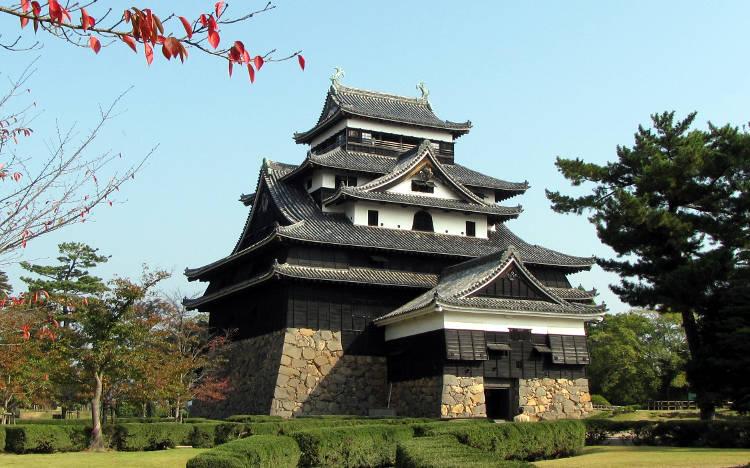 Lo splendido castello giapponese di Matsue.