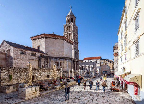 Cattedrale di San Doimo a Spalato.