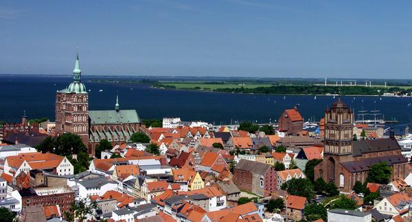 Centro storico di Stralsund.