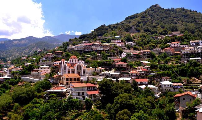 Il bellissimo villaggio tradizionale di Kalopanayiotis a Cipro.
