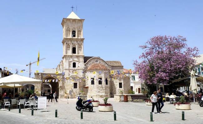 La bellissima e famosa chiesa greco-ortodossa di San Lazzaro a Larnaca.