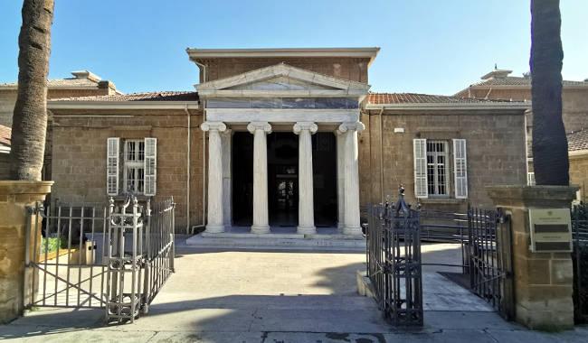 Il Museo archeologico di Cipro.