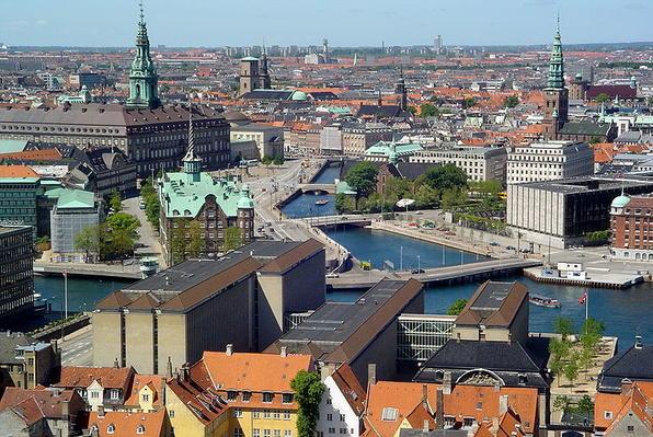 Copenhagen in Danimarca.