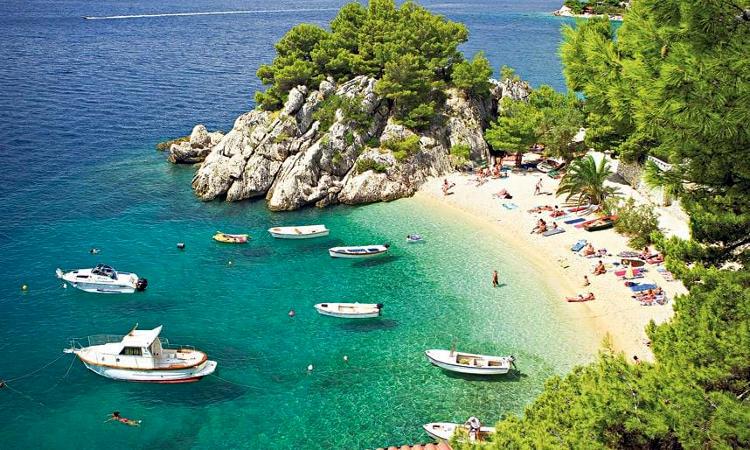 Costa croata della Dalmazia.