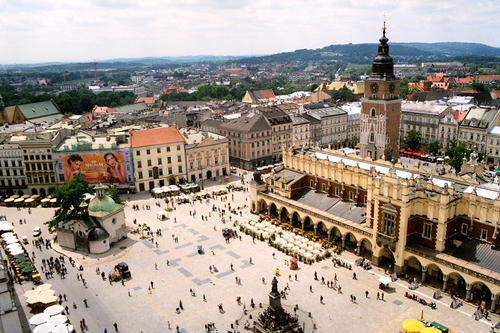 Cracovia in Polonia.