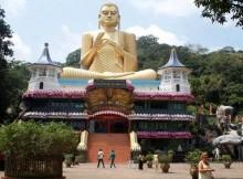 Il tempio di Dambulla in Sri Lanka.