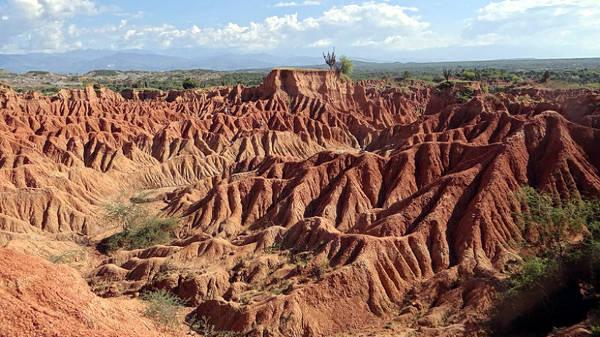 Il particolare deserto di Tatacoa in Colombia.