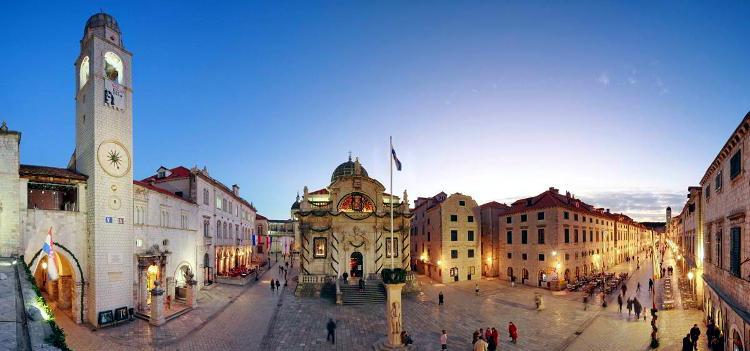 Centro storico di Dubrovnik.