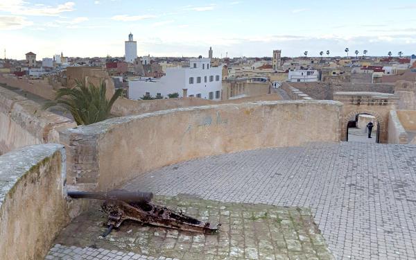 La città fortificata di El Jadida.