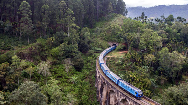 Il viaggio in treno fino a Ella, in Sri Lanka.