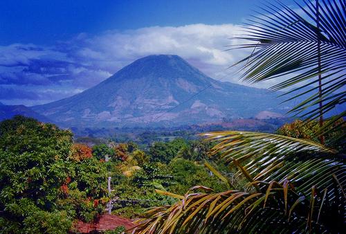 El Salvador, vulcano Chingo