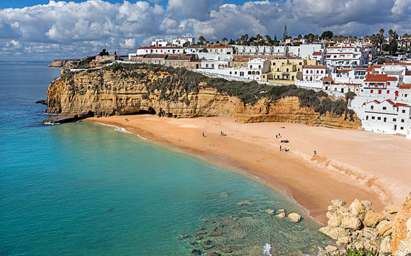 Faro in Algarve, portogallo.