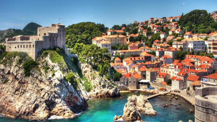 Fortezza di Lovrijenac a Dubrovnik.