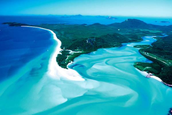 Fraser Island in Australia.