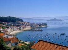 La Galizia, in Spagna.
