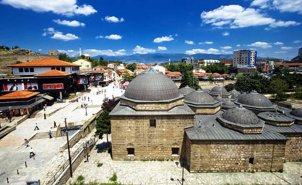 I bagni Daut Pascià che ospitano la Galleria nazionale di Skopje.