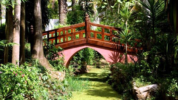 giardini esotici Bouknadel vicino Rabat.