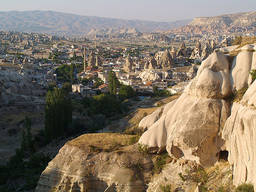 Goreme in Cappadocia, Turchia