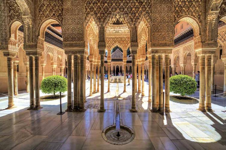 La Alhambra di Granada in Andalusia, Spagna.