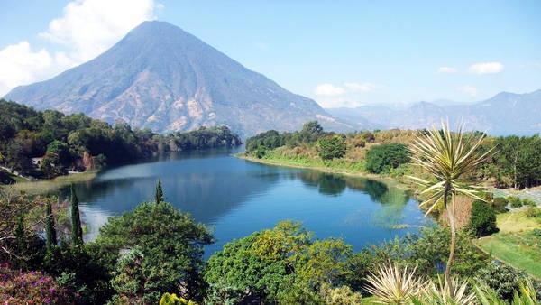 Grande bellezza naturalistica del Guatemala.