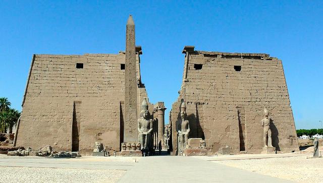 Ingresso del Tempio di Luxor.