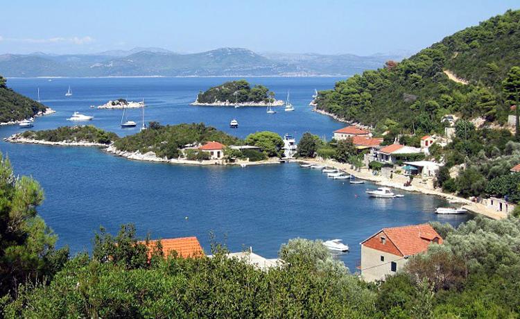 Isola di Mljet Croazia.