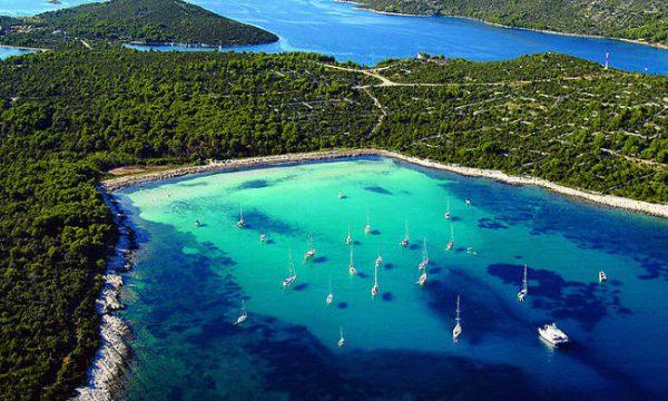 Isole Kornati in Croazia.