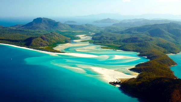 Le Isole Whitsunday.