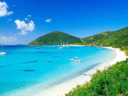 Le Isole Vergini Britanniche.